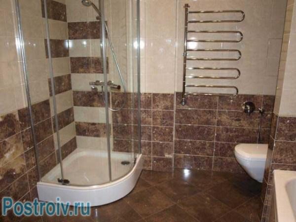 Душевая кабина в ванной комнате - фото. Какие кабинки ...