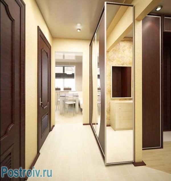 Маленькая прихожая и узкий коридор Фото дизайна коридоров