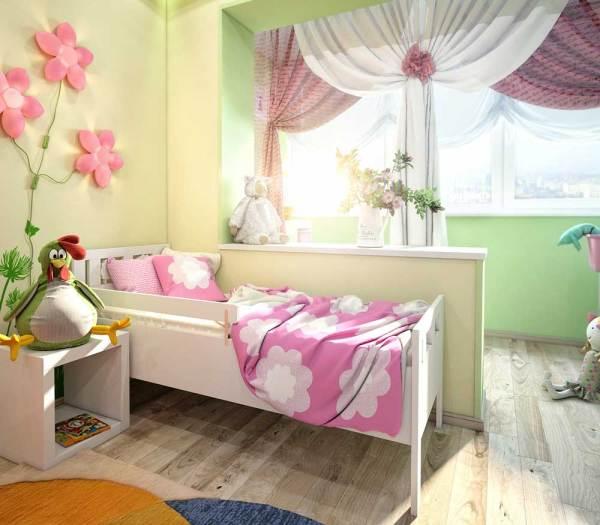 Дизайн детской комнаты для девочки фото. Новинки 2019