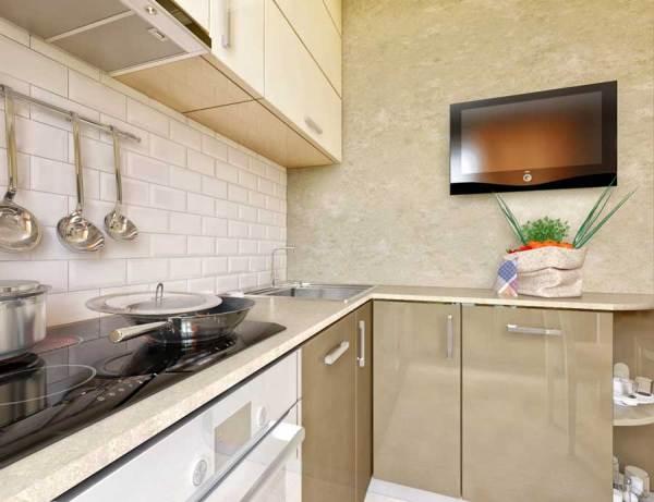 Дизайн интерьера кухни 6 кв. м. Фото маленькой кухни 6 ...