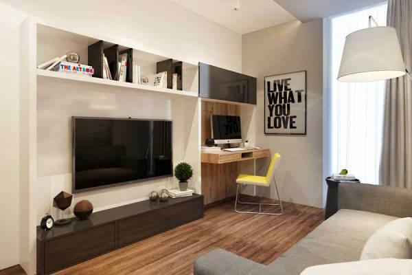 Дизайн комнаты 12 кв м. Фото лучших интерьеров для ...