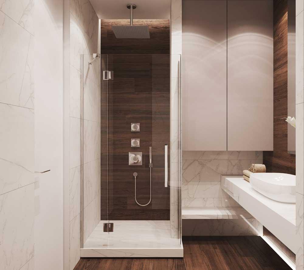 Projekt Wnętrz łazienki 3 Metry Kwadratowe łazienka Lub