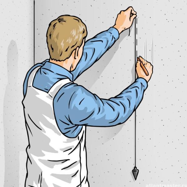 Как правильно поклеить обои на стены