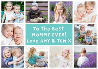 best mommy ever - mother's day card
