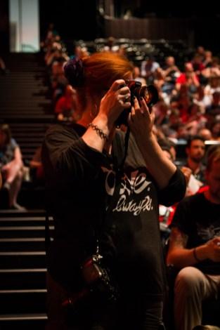 Kari Leigh doing her thing