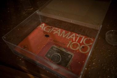 ...Agfamatic 100, började tillverkas 1971...