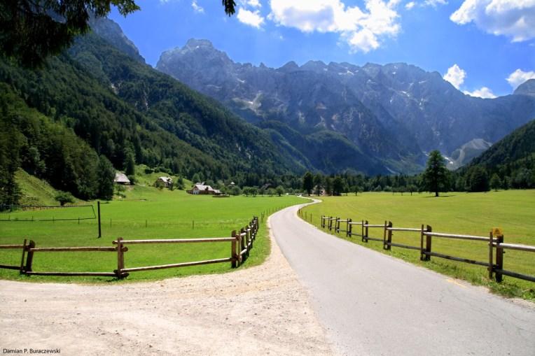 View of Logarska Dolina