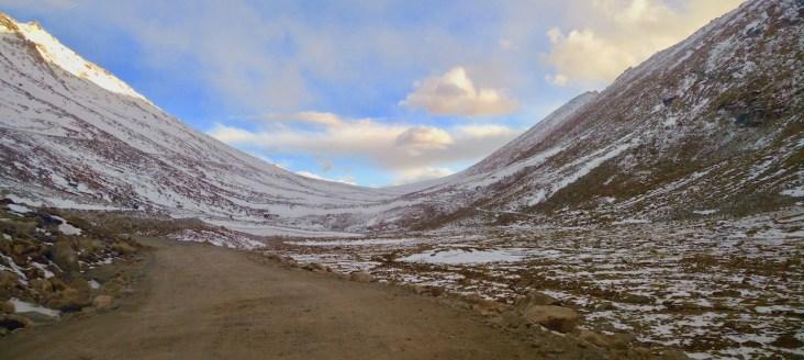 travel from leh to pangong lake - Chang la pass