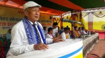 Former Member of Parliament Sri Sansuma Khungur Bwiswmuthiary
