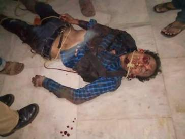 Suspected militant who gunned down the civilians