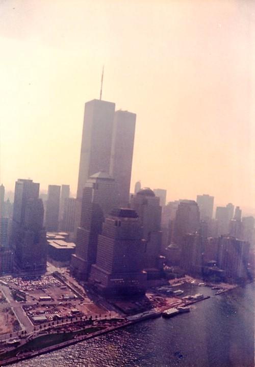 Gemenii si Sud Manhattan, vedere din elicopter