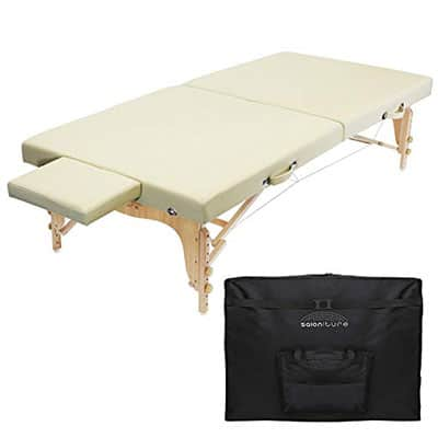Saloniture Portable Physical Therapy Massage Table