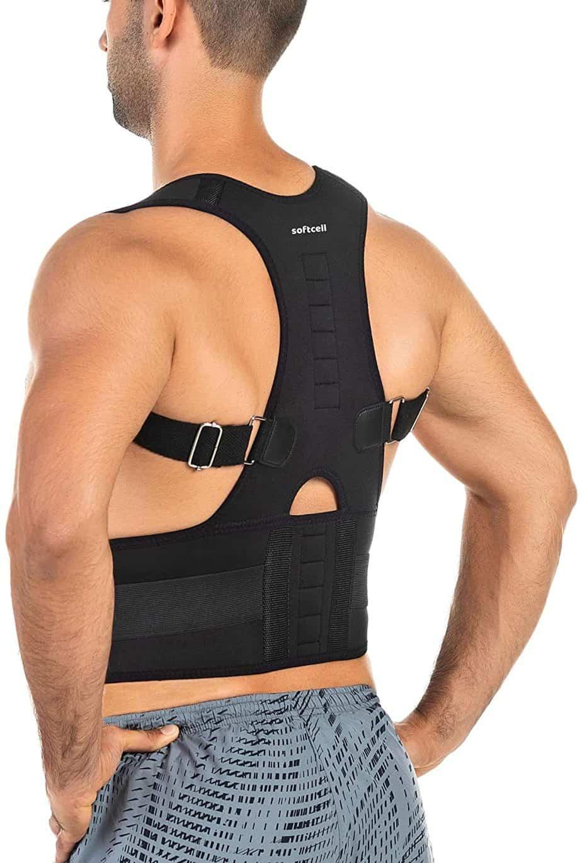 Soft cell Posture Correction Back Brace