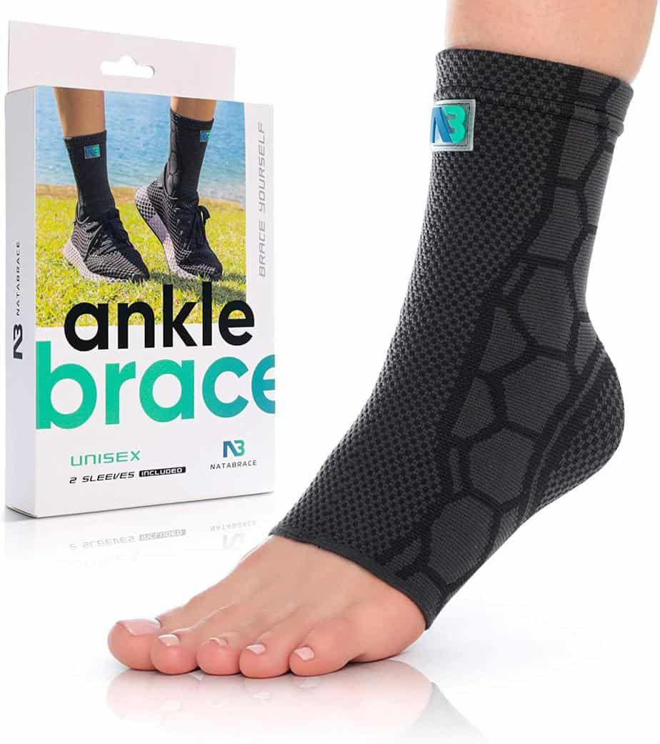Natabrace Ankle brace support compression sleeve