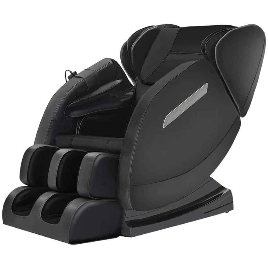 Massage chair recliner with zero gravity