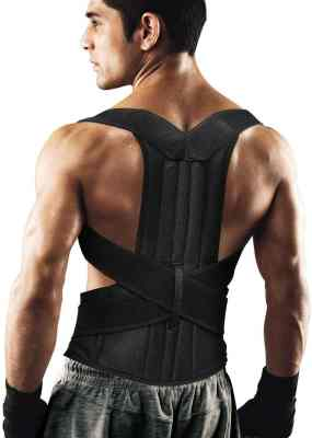 Fitsupport back brace posture corrector for Men