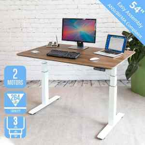 Seville Classics AIRLIFT Electric Standing Desk