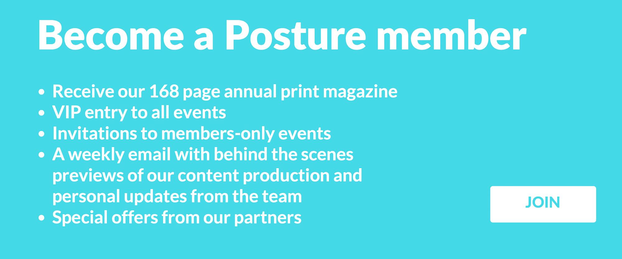 Posture Magazine champions underrepresented creators and entrepreneurs
