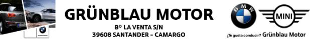 Banner Grünblau Motor