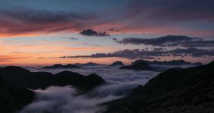 Mar de nubes en los Picos de Europa
