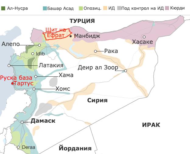 Обстановката в Сирия септември 2016