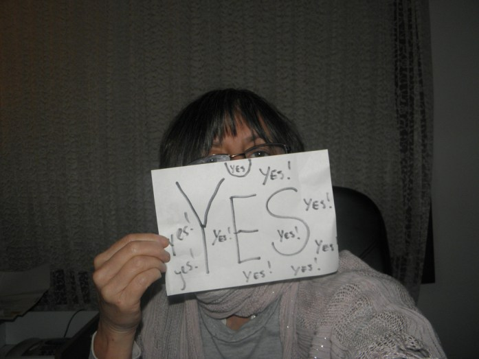 Say 'yes' to life