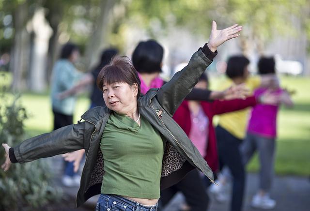 Exercise makes you happy - photo courtesy of Flick'gAbilityk