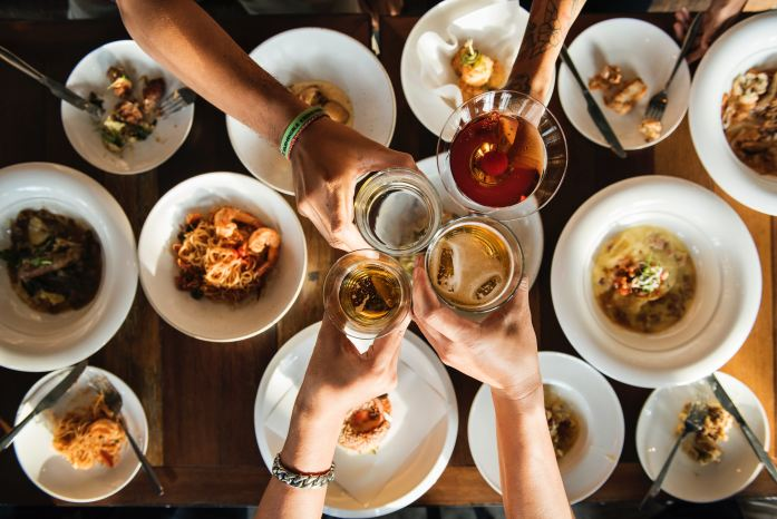 Sharing food and drink builds relationships