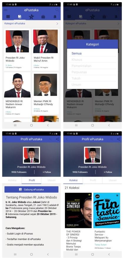 aplikasi baca online: ipusnas- epustaka