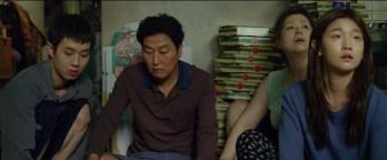 Parasite (2020) - kim family