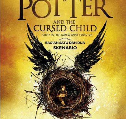 buku harry potter and the cursed child