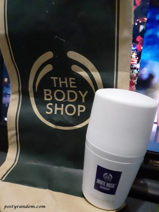 deodorant the body shop white musk