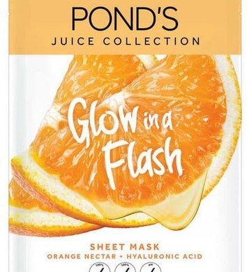 masker pond's juice collection orange