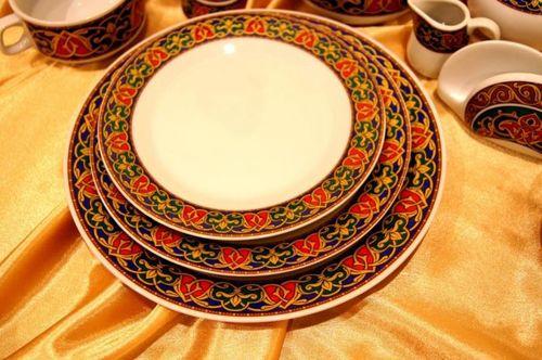 Посуда с орнаментом: геометрический, восточный с рисунками ...