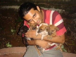 rescued dogs vikram shastri, ambarnath india
