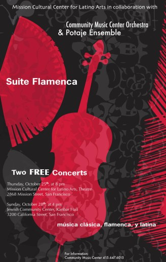 SuiteFlamenca poster 650x1024 - Compositions & Arrangements