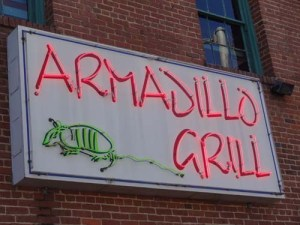 armadillo grill sign copy