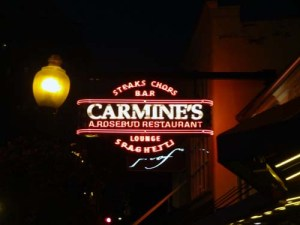 Carmine's, Chicago, Illinois