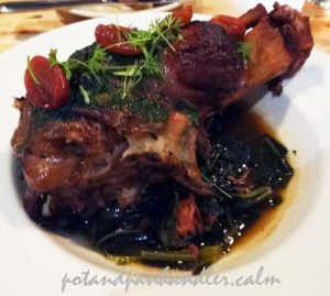 Pork Shank and Collard Greens from Miami's The Federal