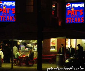 Pat's Cheesesteaks Philadelphia, PA