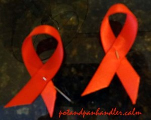 Dine Out for Life by ACTIONAIDS ribbons 2015
