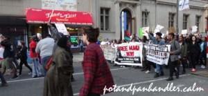 Freddie Gray protestors Philadelphia, Pa 2015