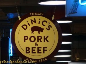 Dinic's Reading Terminal Market Philadelphia, Pennsylvania