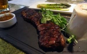 Skirt Steak with Au Poivre sauce Chopps Burlington, Massachusetts