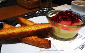 the Chef & the Farmer, Panna Cotta, Kinston, North Carolina