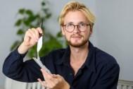 Potato plastic inventor