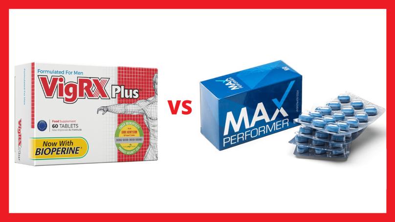 max performer vs vigrx plus