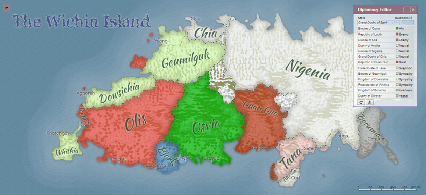 Map at https://awesomeopensource.com/project/Azgaar/Fantasy-Map-Generator