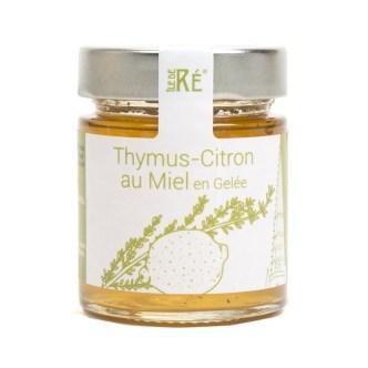 Gelée thym-citron au miel