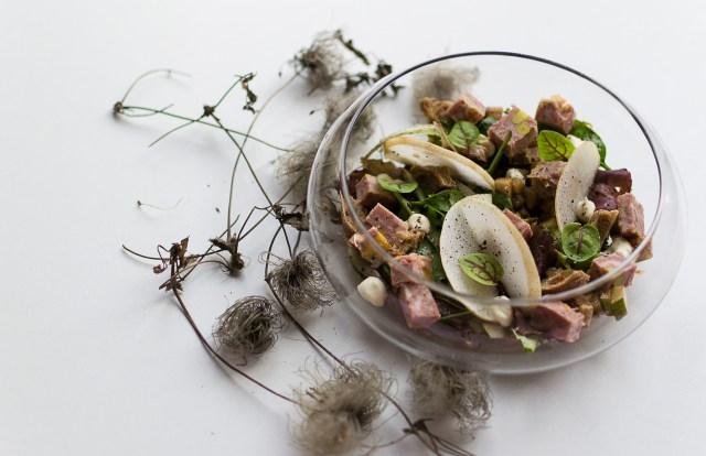 Salade gourmande boucherie Goeders